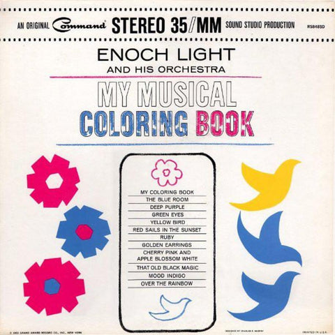 Enoch Light ‎– My Musical Coloring Book - Vinyl Record