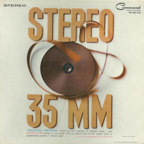 Enoch Light And His Orchestra ‎– Stereo 35/MM vinyl record front cover