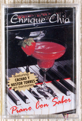 Enrique Chia ‎– Piano Con Sabor (1996) SEALED