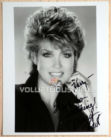 Entertainment Tonight - Mary Hart Autographed Photo