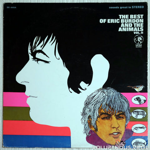 Eric Burdon And The Animals ‎– The Best Of Eric Burdon And The Animals Vol. II - Vinyl Record - Front Cover