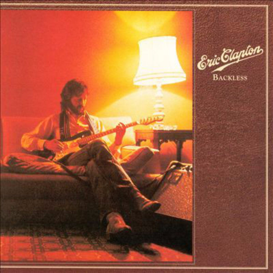 Eric Clapton ‎– Backless - Vinyl Record - Front Cover