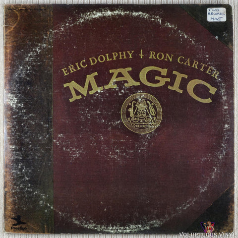 Eric Dolphy / Ron Carter ‎– Magic vinyl record front cover