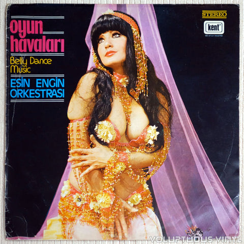 Esin Engin Orkestrası ‎– Oyun Havaları Belly Dance Music - Vinyl Record - Front Cover