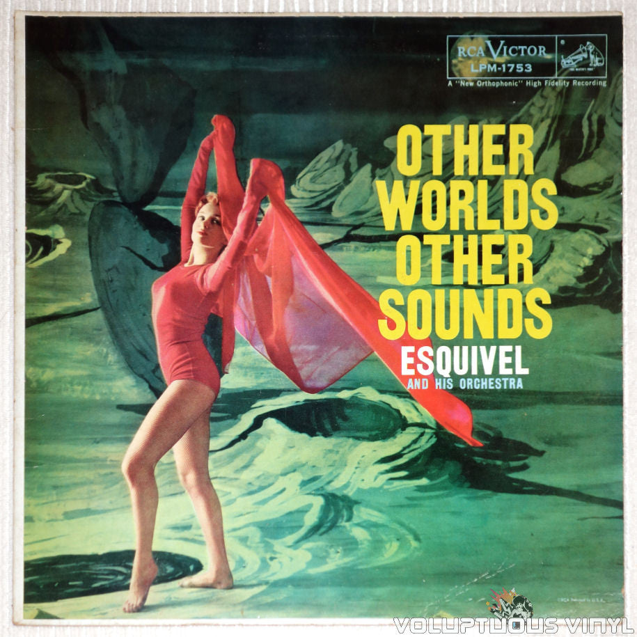 Esquivel And His Orchestra ‎– Other Worlds Other Sounds - Vinyl Record - Front Cover