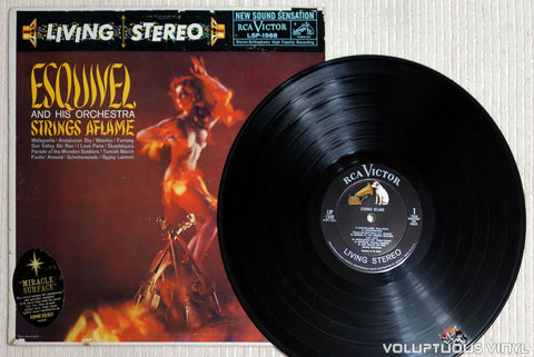 Esquivel And His Orchestra ‎– Strings Aflame - Vinyl Record