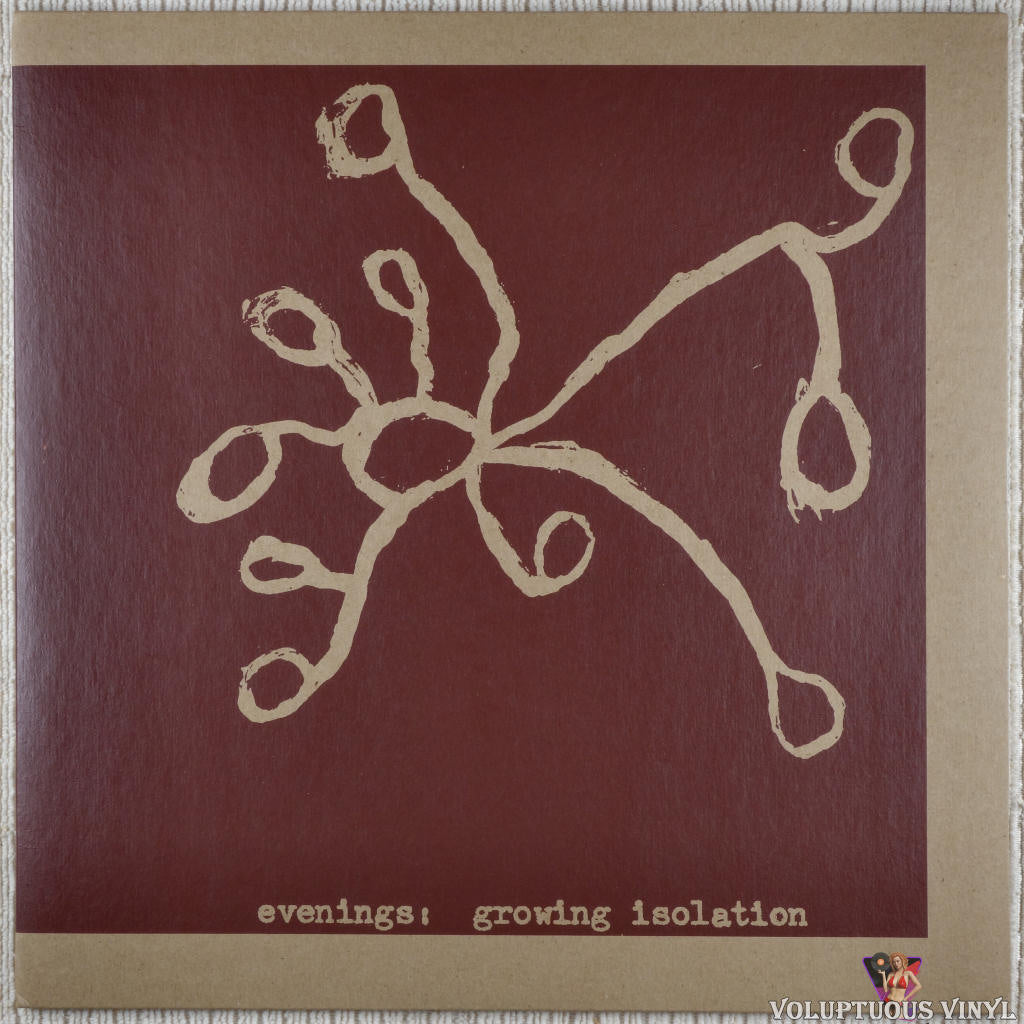 Evenings ‎– Growing Isolation vinyl record front cover