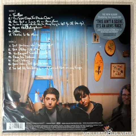 Fall Out Boy ‎– Infinity On High - Vinyl Record - Back Cover