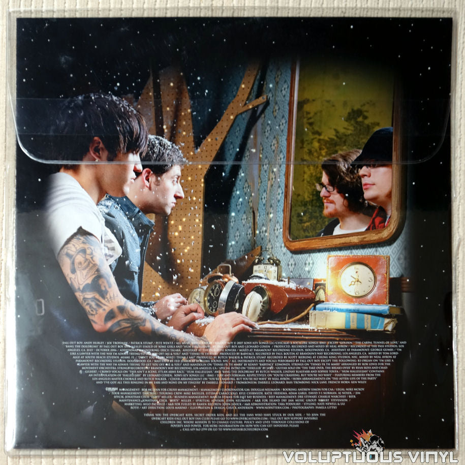 Fall Out Boy ‎– Infinity On High - Vinyl Record - Front Cover