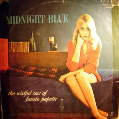 Fausto Papetti ‎– Midnight Blue vinyl record front cover