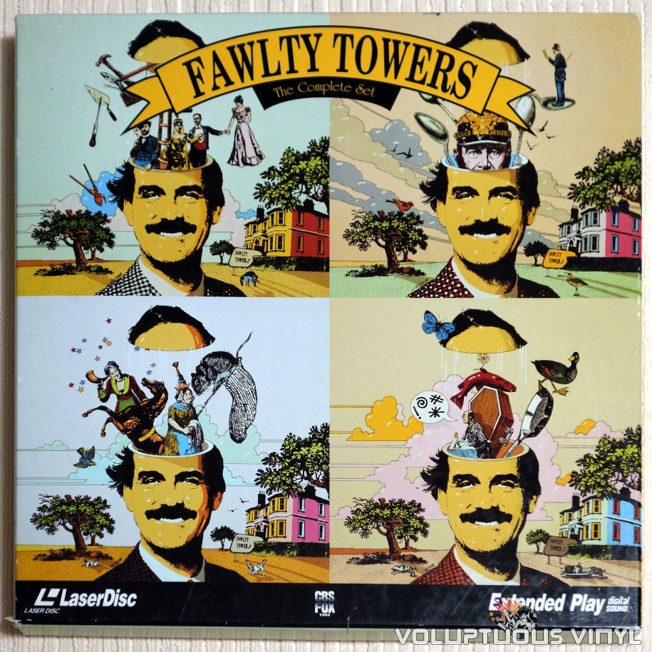 Fawlty Towers - LaserDisc - Front Cover