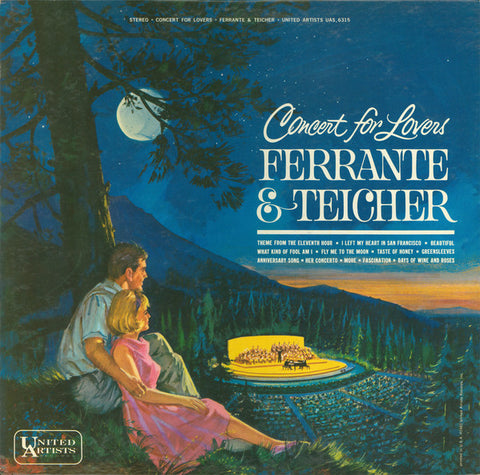 Ferrante & Teicher ‎– Concert For Lovers (1963) Cheap Vinyl Record