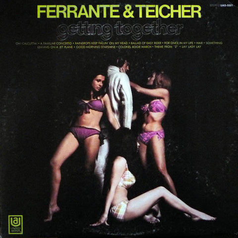 Ferrante & Teicher ‎– Getting Together (1970) Cheap Vinyl Record