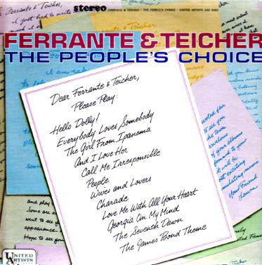 Ferrante & Teicher ‎– The People's Choice (1964) Cheap Vinyl Record
