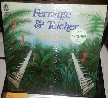 Ferrante & Teicher ‎– Pianos In Paradise (1978) Cheap Vinyl Record