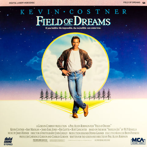 Field of Dreams (1989) Kevin Costner LaserDisc