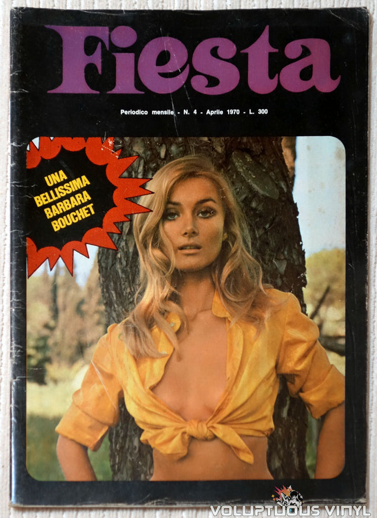 Fiesta - April 1970 - Barbara Bouchet Front Cover