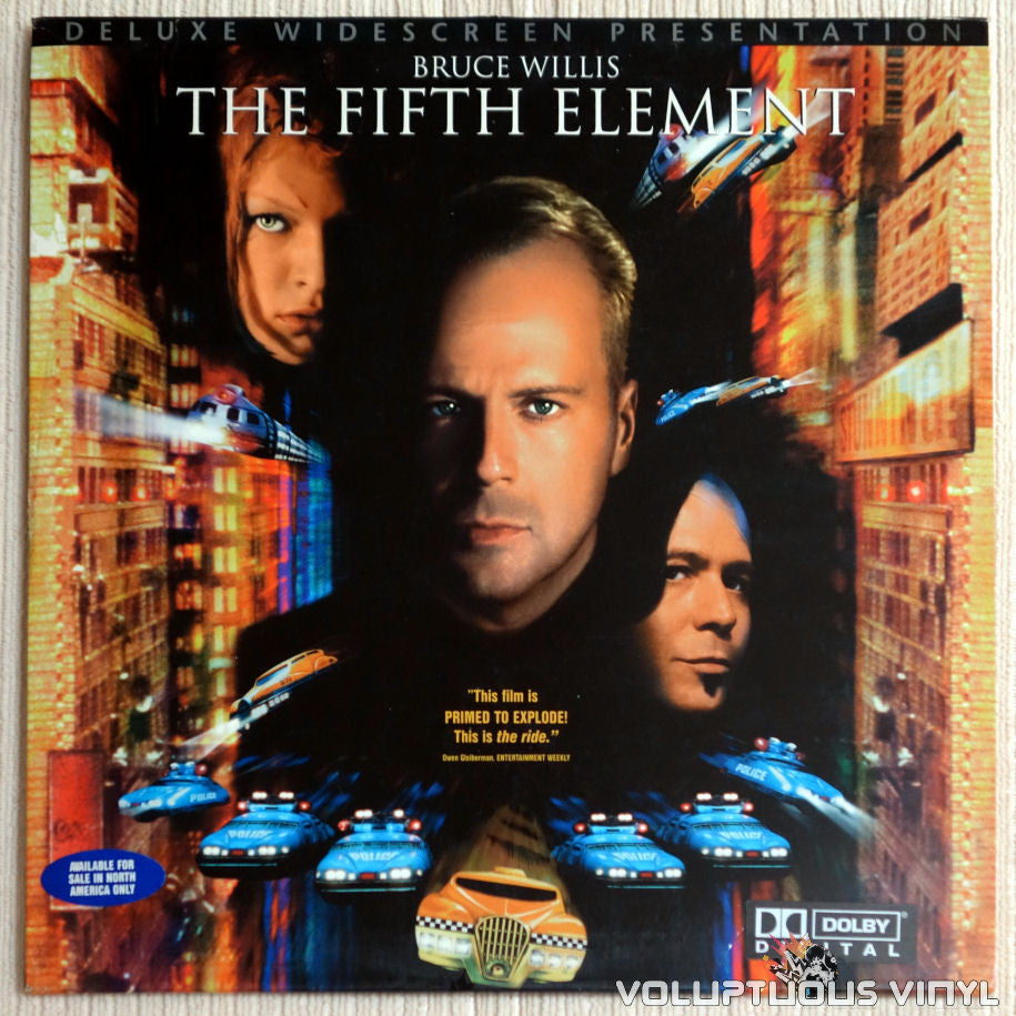 Fifth Element - LaserDisc - Front Cover