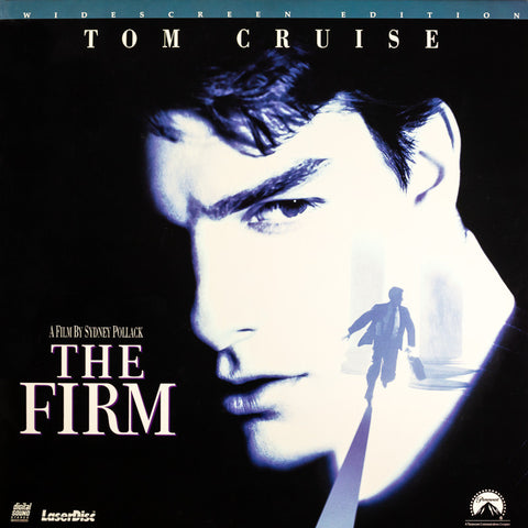 Firm, The (1993) Tom Cruise LaserDisc