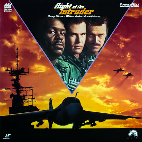 Flight of the Intruder (1991) LaserDisc