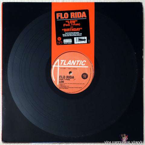 "Flo Rida ‎– Low / Birthday (2007) 12"" Single"