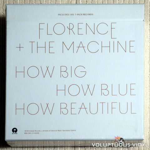 Florence And The Machine ‎– How Big, How Blue, How Beautiful - Vinyl Record - Back Cover