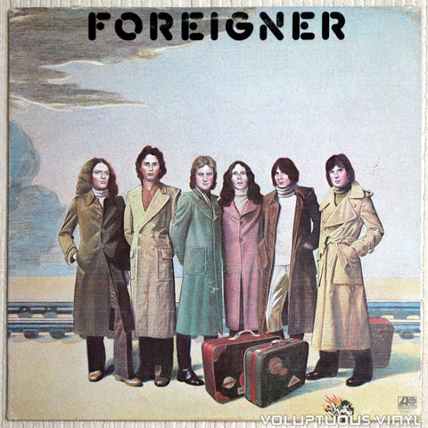 Foreigner ‎– Foreigner - Vinyl Record - Front Cover