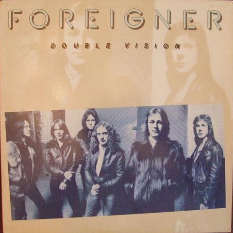 Foreigner ‎– Double Vision - Vinyl Record