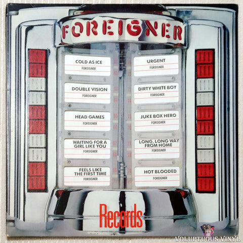 Foreigner ‎– Records (1982)