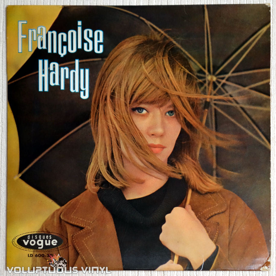Françoise Hardy ‎– Françoise Hardy - Vinyl Record - Front Cover