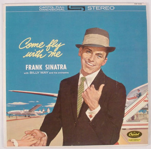 Frank Sinatra ‎– Come Fly With Me (1962) Cheap Vinyl Record