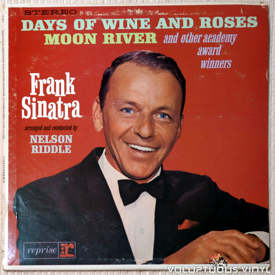 Frank Sinatra ‎– Sings Days Of Wine And Roses, Moon River, And Other Academy Award Winners - Vinyl Record - Front Cover