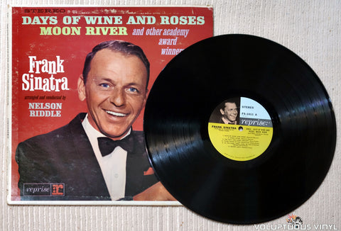 Frank Sinatra ‎– Sings Days Of Wine And Roses, Moon River, And Other Academy Award Winners - Vinyl Record