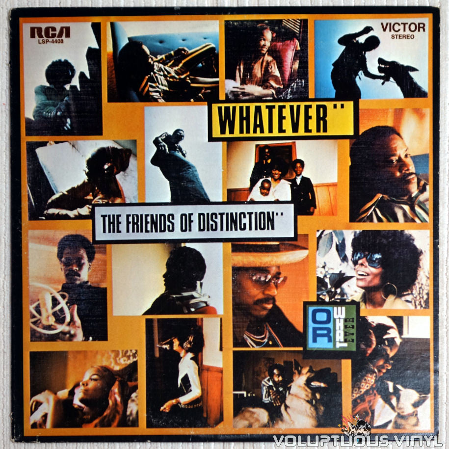 The Friends Of Distinction ‎– Whatever - Vinyl Record - Front Cover