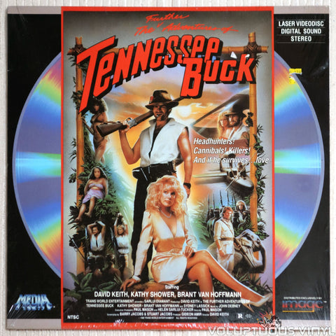 Further Adventures of Tennessee Buck - Laserdisc - Front Cover