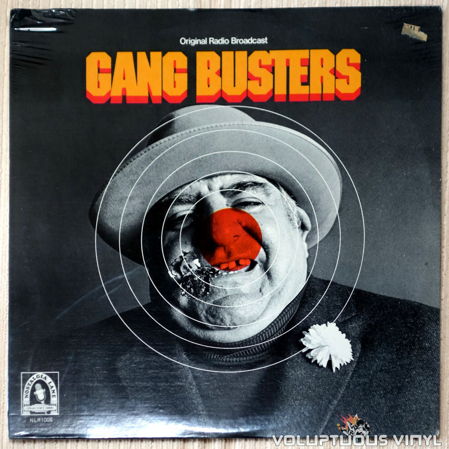 Unknown Artist ‎– Gang Busters - Vinyl Record - Front Cover