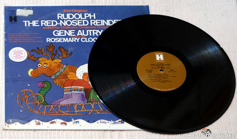 Gene Autry With Guest Star Rosemary Clooney ‎– Rudolph The Red-Nosed Reindeer vinyl record