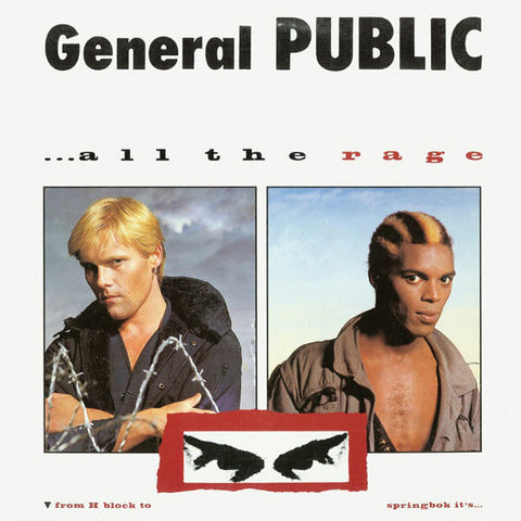General Public ‎– ...All The Rage (1984) Vinyl Record