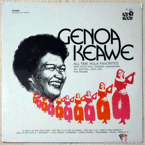 Genoa Keawe ‎– All Time Hula Favorites (1974) SEALED