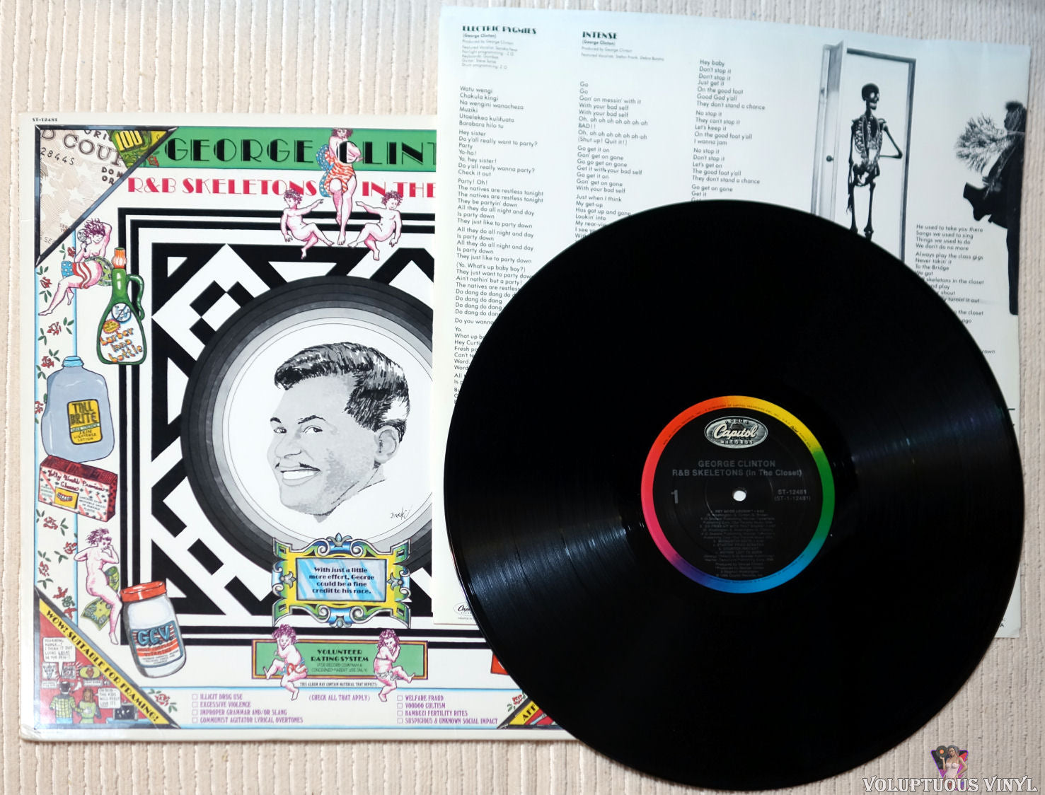 George Clinton R B Skeletons In The Closet 1986