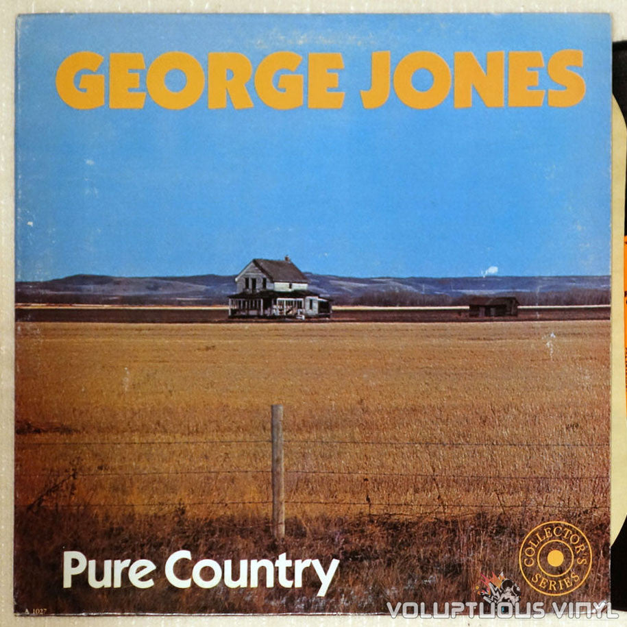 George Jones ‎– Pure Country - Vinyl Record