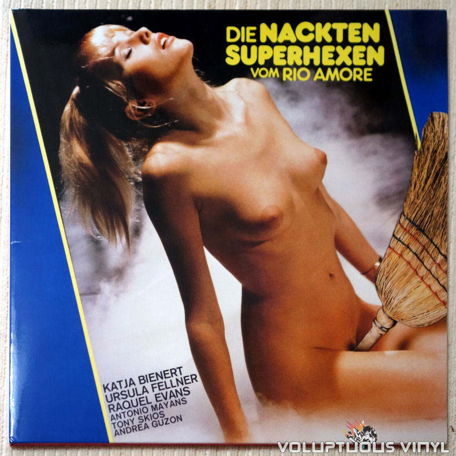 Gerhard Heinz ‎– The Naked Superwitches Of The Rio Amore / Die Nackten Superhexen Vom Rio Amore - Vinyl Record - Front Cover