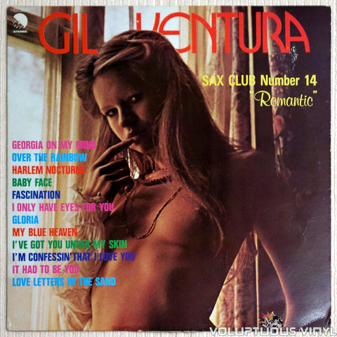 Gil Ventura ‎– Sax Club Number 14 - Vinyl Record - Nude Front Cover