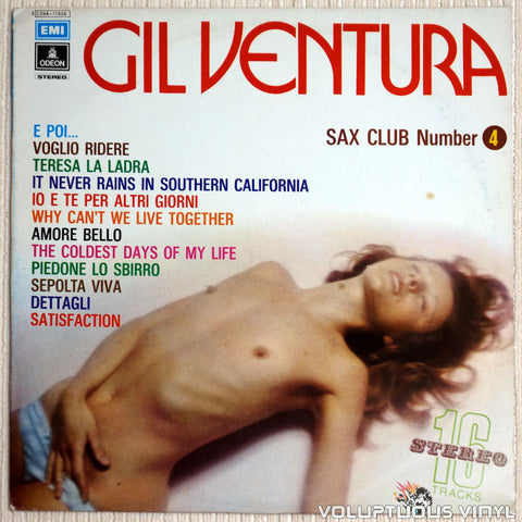 Gil Ventura ‎– Sax Club Number 4 - Vinyl Record - Front Cover