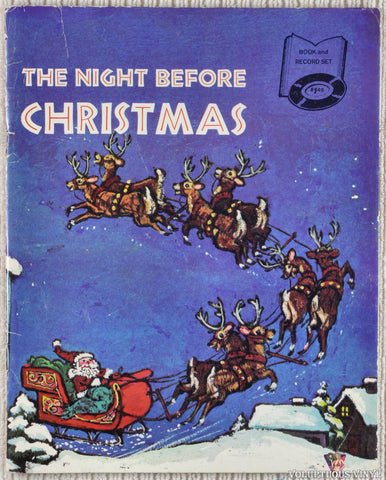 "Gilbert Mack ‎– The Night Before Christmas (1970) 7"" w/Book"