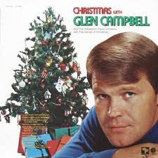 Glen Campbell & Hollywood Pops With Voices Of Christmas ‎– Christmas With Glen Campbell (1971) STEREO Vinyl Record