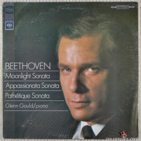 Glenn Gould, ‎Ludwig Van Beethoven – Moonlight / Appassionata / Pathétique Sonatas vinyl record front cover