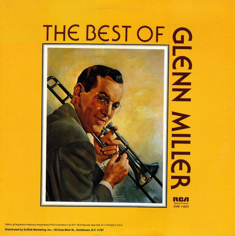 Glenn Miller And His Orchestra ‎– The Best Of Glenn Miller - Vinyl Record - Front Cover