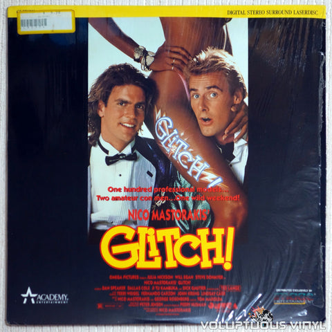 Glitch - LaserDisc - Front Cover
