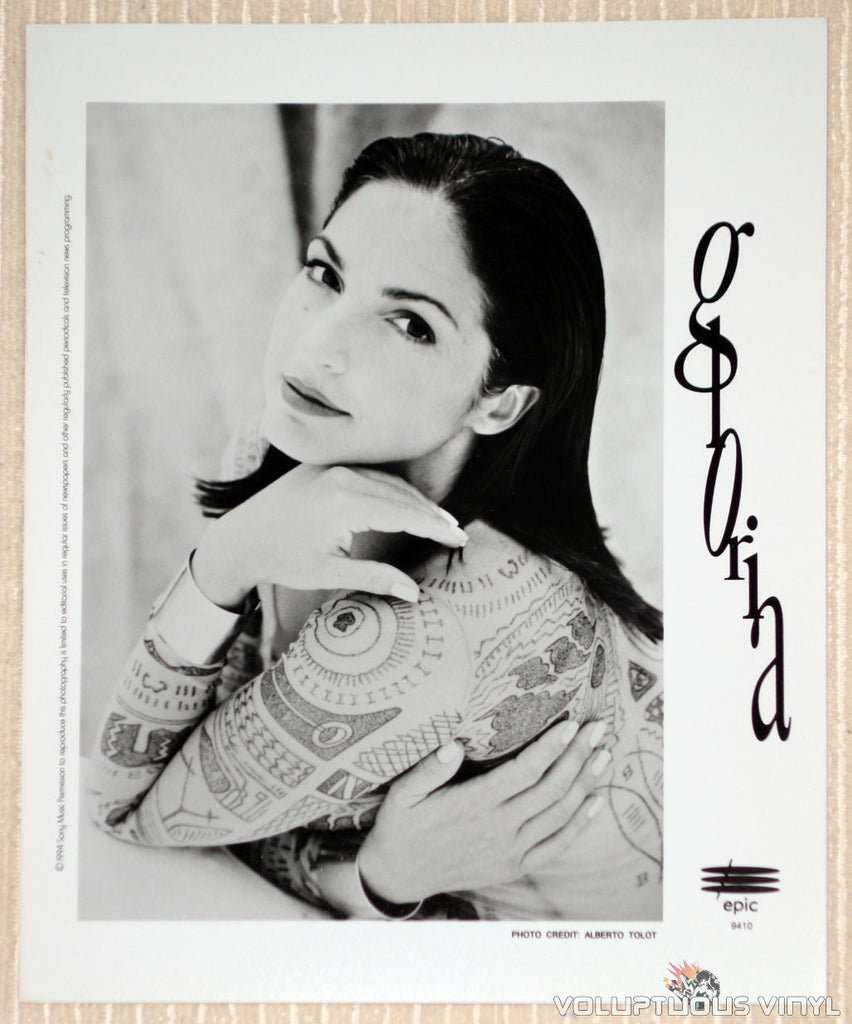 Gloria Estefan - Epic Records - 1994 Promotional Photo